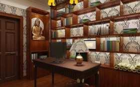 新古典书房设计图
