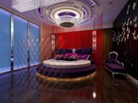 新古典主义华丽卧室装修效果图