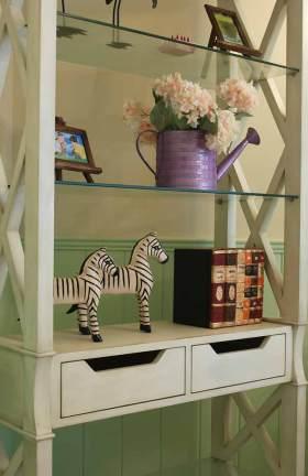 田园风格收纳柜柜设计