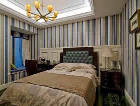 清爽美式卧室装修效果图