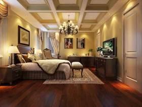 2015美式卧室装修效果图