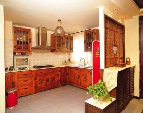 传统东南亚风格厨房设计