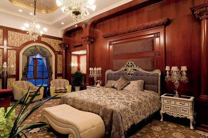 经典欧式卧室装潢设计