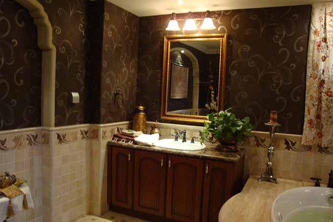 欧式卫生间装潢设计