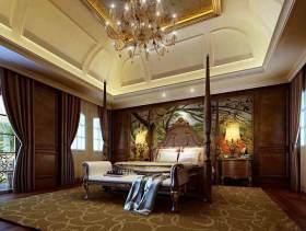 豪华美式卧室装修效果图