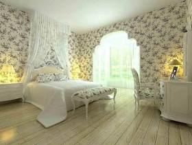 浪漫纯净田园风卧室设计
