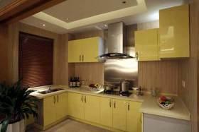 中式简约厨房装潢设计
