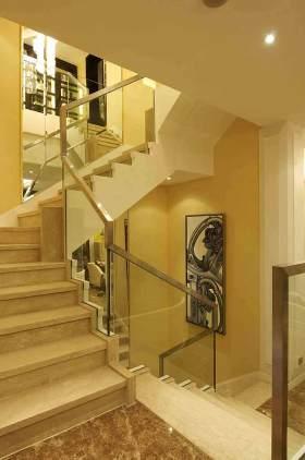 简欧楼梯装潢设计