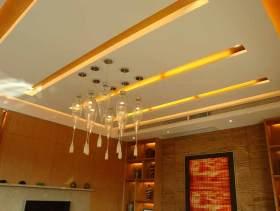 欧式客厅吊顶设计图