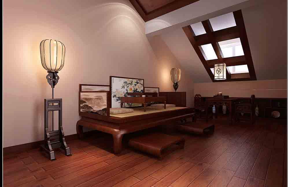 中式阁楼装修效果图