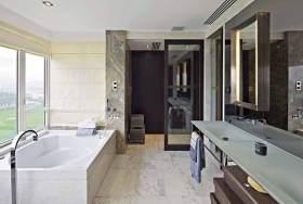 现代风格卫生间装潢设计