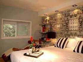 美式混搭卧室装修效果图