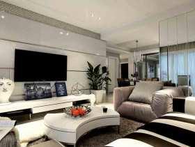 时尚雅致新古典两居室设计效果图