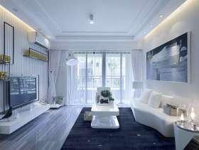 光盈现代风时尚二居室装潢图片大全
