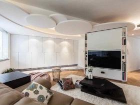 2016创意简约风二居装潢设计
