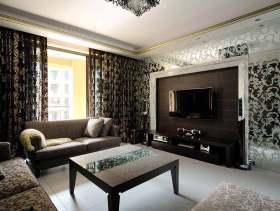 个性魅惑欧式风格两居室设计装潢