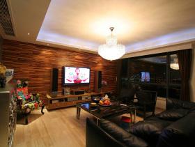 60方唯美温馨混搭风格两室两厅设计案例