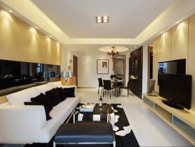 105方温馨清爽简约三室两厅装修案例设计参考