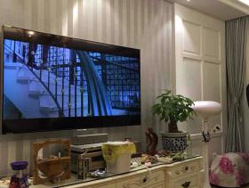 90平清爽实用欧式三室两厅小户型装饰样板