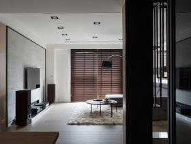 极简主义简约风格四居室内效果