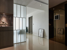 化简为洁简约两居设计装潢案例
