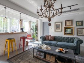 经典美式开放式客厅设计