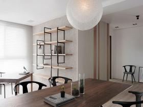 现代原木餐厅装修设计