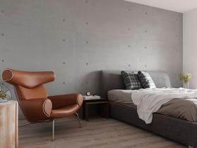 现代雅致简约性冷淡卧室