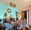 彩色混搭风格三居装修布置