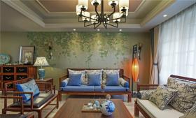 新中式韵味客厅装修设计