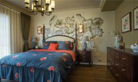 新中式韵味雅致卧室设计