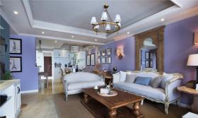 美式浪漫雅致经典客厅设计