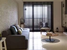 裸色系现代风格三居室装潢设计