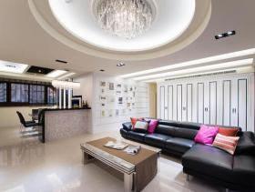 明亮宽敞新古典风格三居室装修欣赏