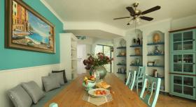 地中海蓝色餐厅系列设计