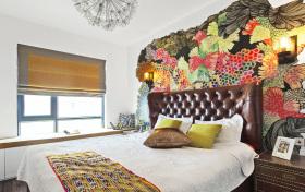 民族风简约浓郁卧室装修设计