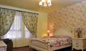 美式田园碎花卧室装修设计