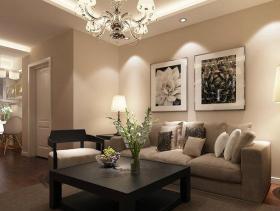 舒适现代简约风格两居装修设计欣赏