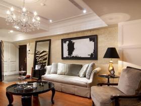 古典混搭风格三居装修设计欣赏