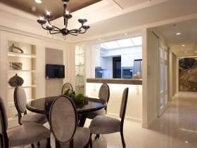简欧时尚98方两居室装潢设计