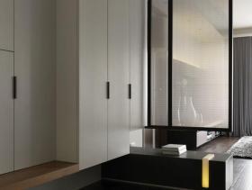 质朴现代风格106平两居室装修设计欣赏