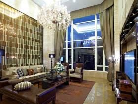 大气米色现代风格别墅装修案例