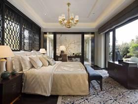 中式与欧式混搭风格古典奢华别墅装潢设计