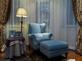 美式田园乡村风格三居室浪漫装潢案例