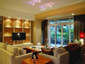 91平米典雅新古典二居装修案例