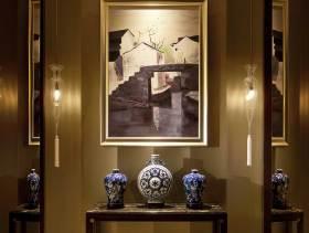 都市典雅简欧风格三居室装修案例