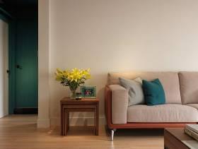 工业风个性摩登简约风格56平一居装潢设计