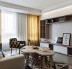 活泼简单宜家风格58平一居室装修案例