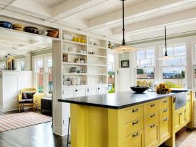 清新自然混搭风格浪漫两居装潢设计