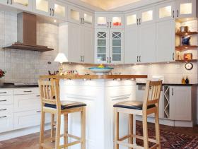 浪漫复古优雅美式乡村风格两居室设计